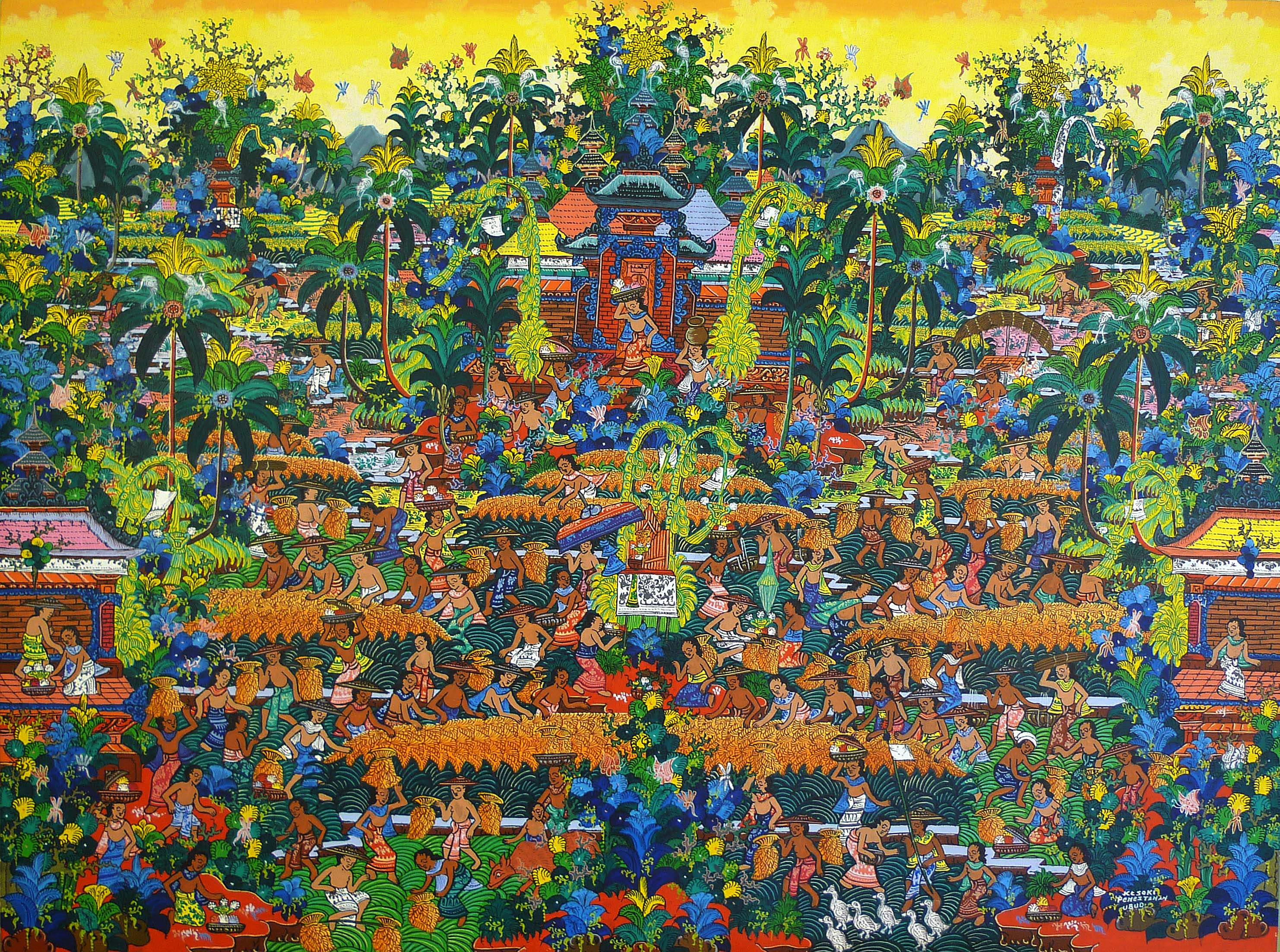 Famous Balinese Paintings