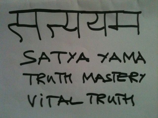 What is Satya? lucid practice yama and niyamas