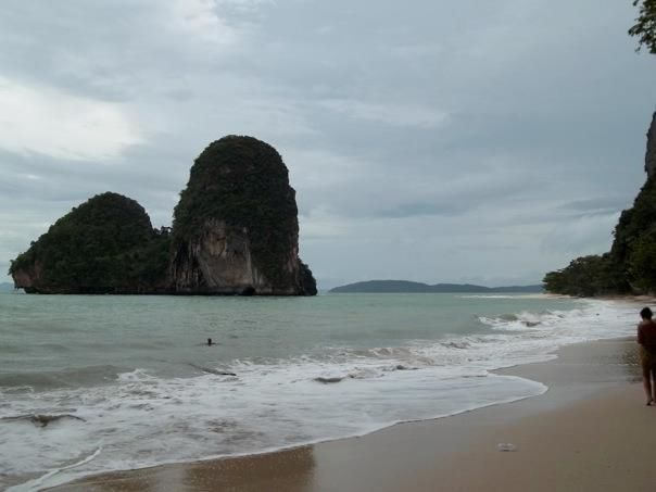 Rock Climbing on Railay beach