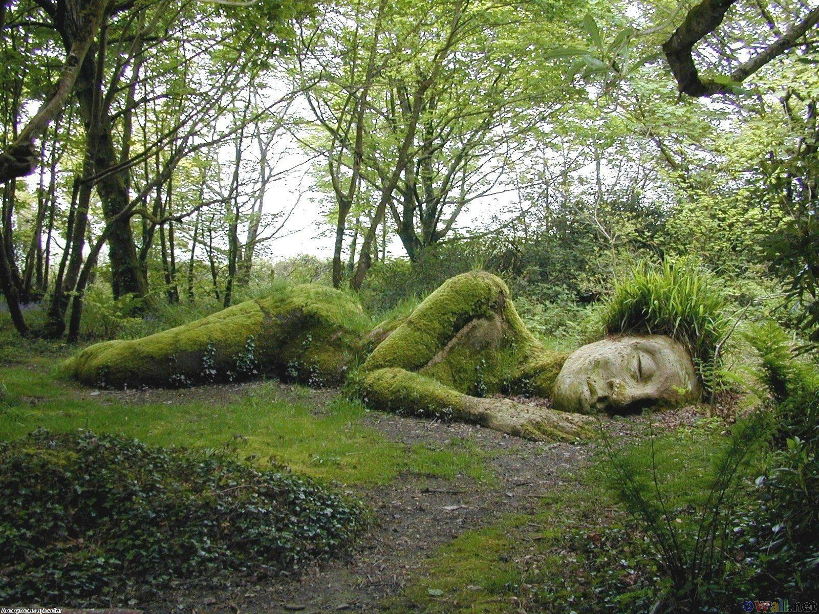 Sleeping Goddess, Heligan, England