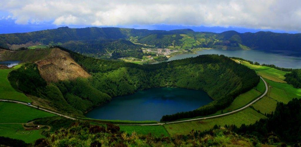 Lagoa de Santiago - Sao Miguel, portugal