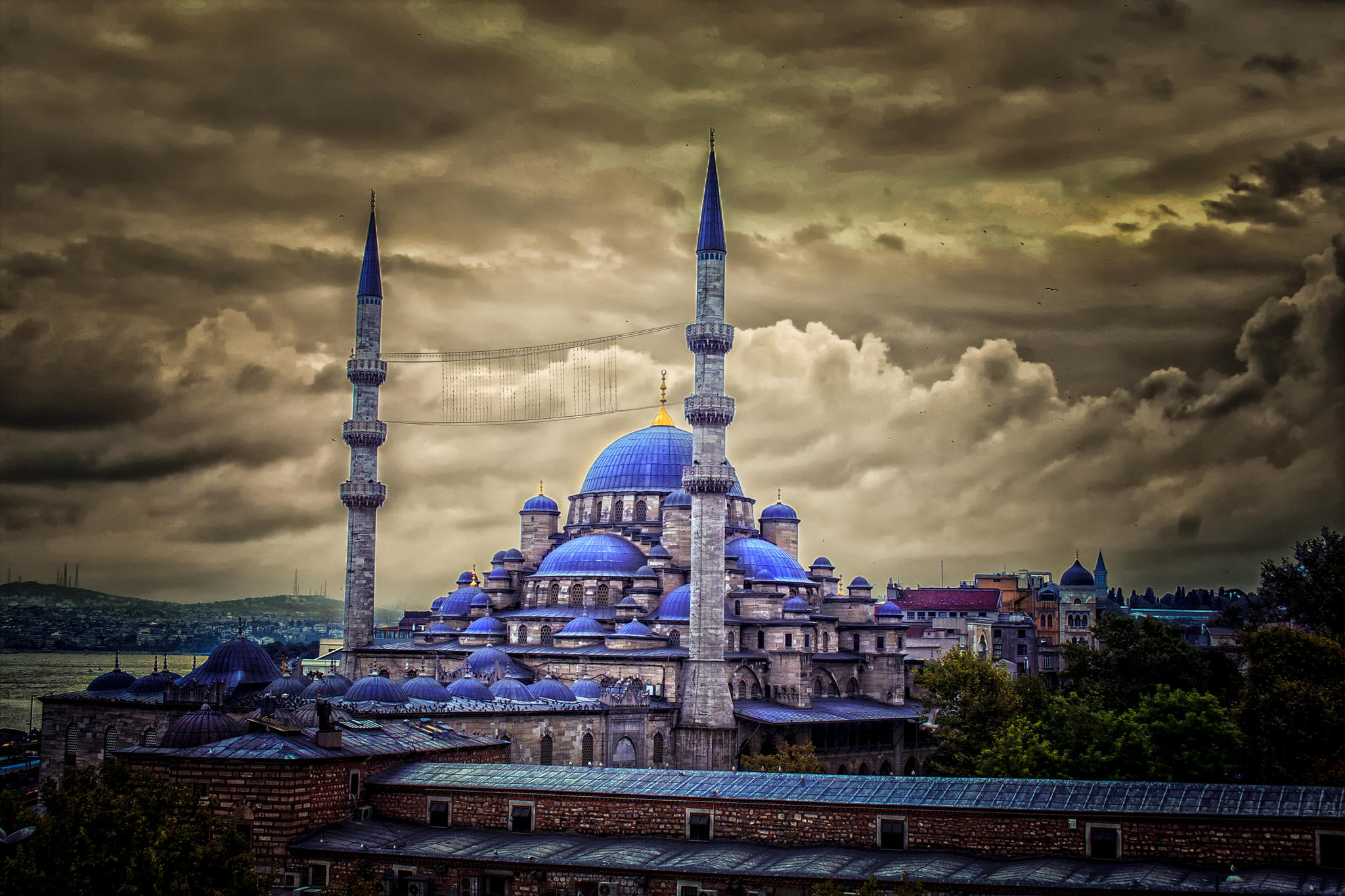 12 10 Destination Sultan Ahmed Mosque Blue Istanbul