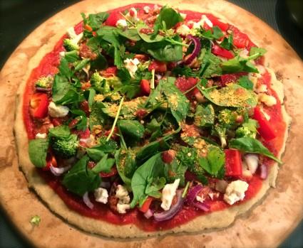 Lucid Practice Gluten Free Vegan Pizza