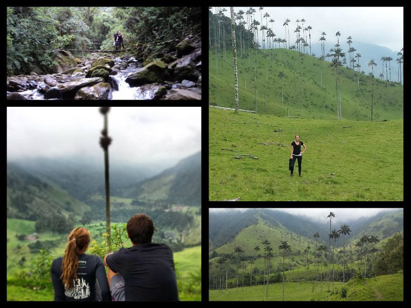 trekking valley de cocora