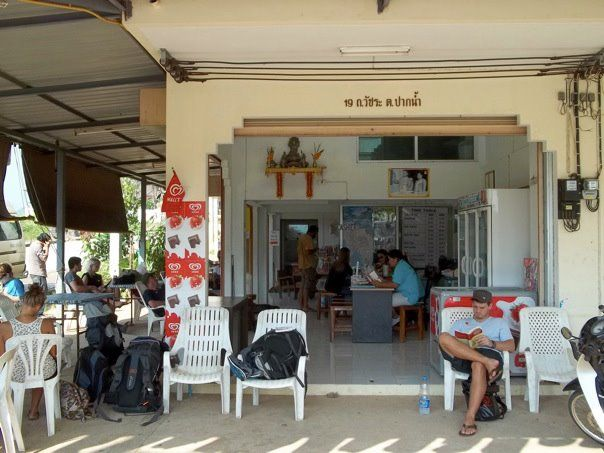 Pointless Bus Stop Thailand