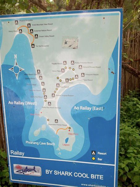 Railay Beach Thailand Average Daily Cost 29Day Lucid Practice
