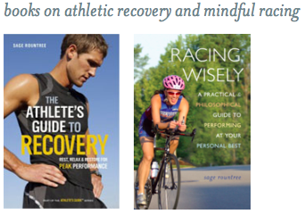 Sage Rountree Books on Athletic Rocovery and Mindful Racing