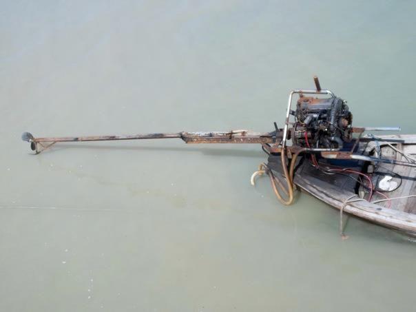 Thailand Fishtail Boat Lawnmower engine