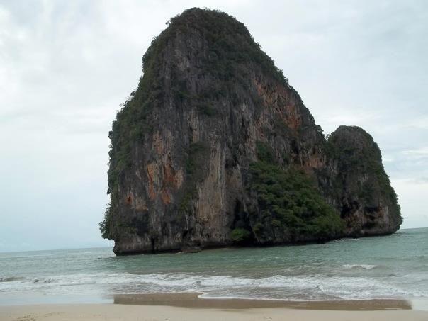 Thailand Limestone Cliffs