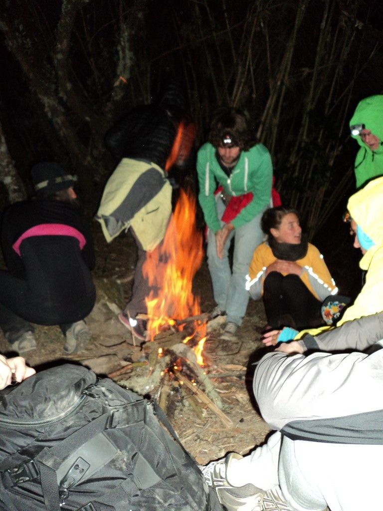 make your own fire hiking volcan baru on your own