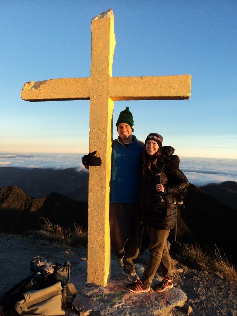 summit of volcan baru