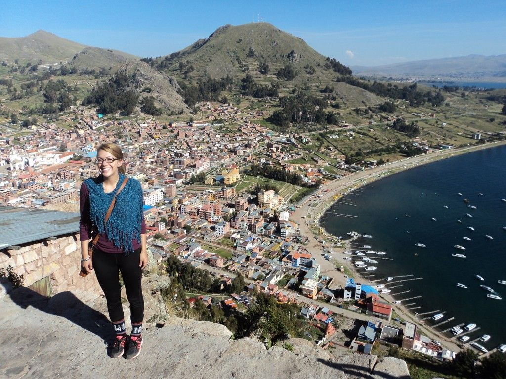 Copacabana Bolivia View from Cliff