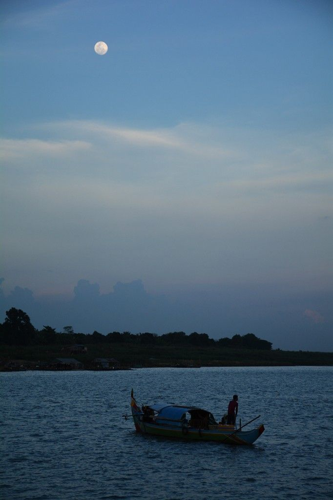 Full Moon Mekong River Cambodia