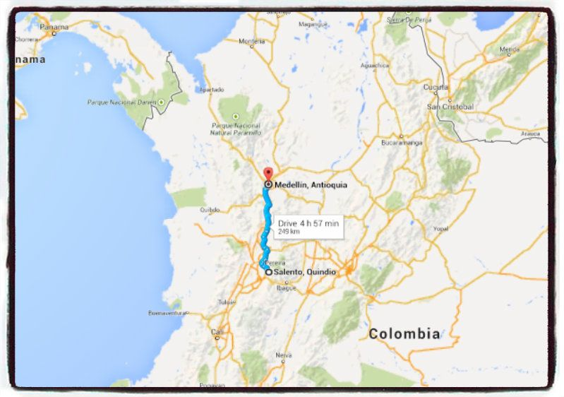 How to get to Salento Colombia Buses for Salento Colombia Salento Colombia by bus