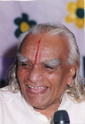 In Honor of BKS Iyengar Smiling