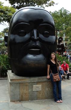 Botero Statue Medellin