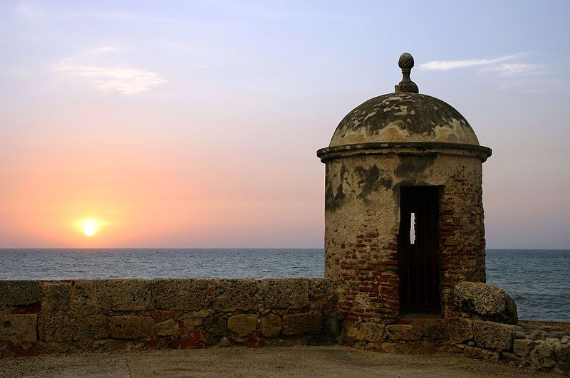 Cartagena Sunset Travel Guide Walled City
