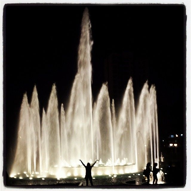 Magic water show Lima Peru Fountains Lima Peru
