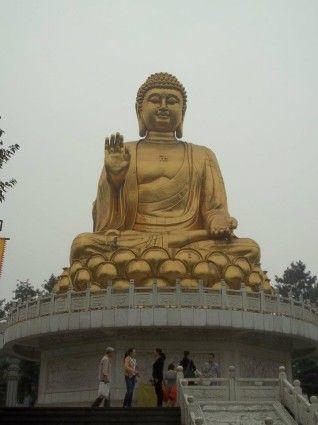 Huayan Scenic Resort golden Buddha