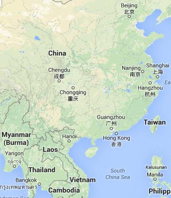 Where is Chongqing China