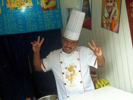 chongqing china indian roti