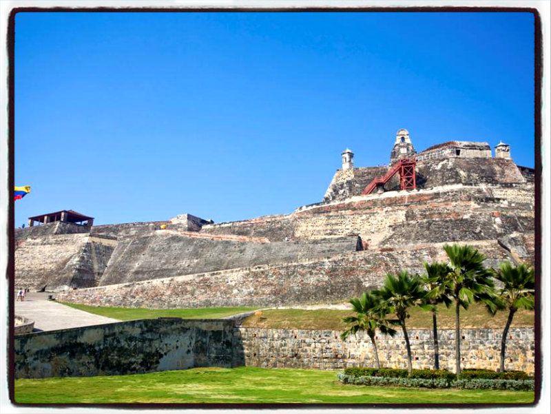 castillo san felipe de barajas cartagena colombia