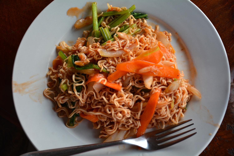 Koh Ker Village Cambodia food