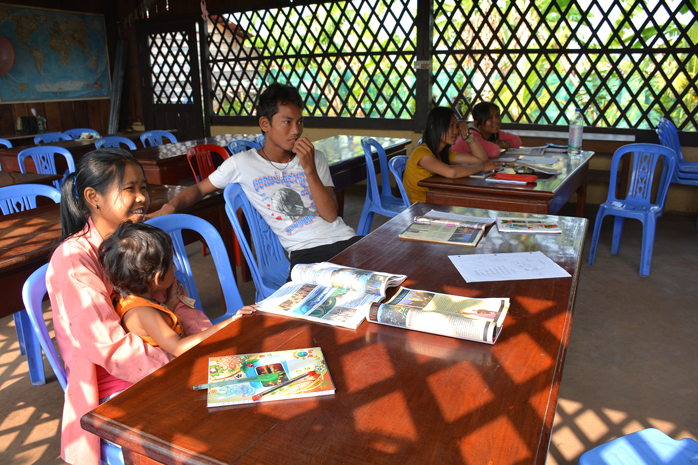 Koh Ker Village Cambodia