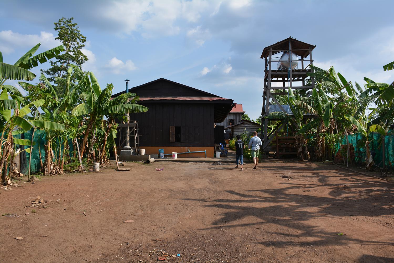 Srayang Dormitory Koh Ker Cambodia